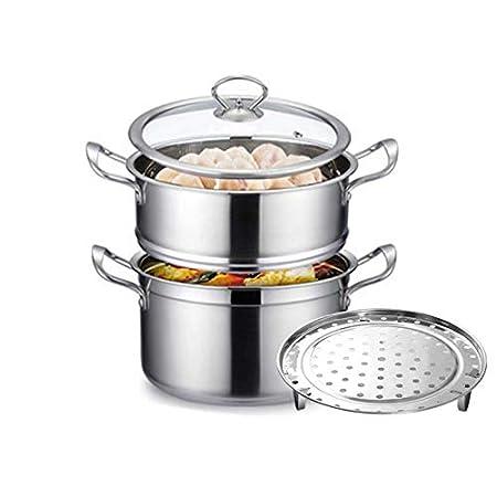 XT - Olla, Acero Inoxidable Grueso para ollas de Cocina ...