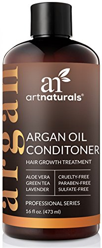 ArtNaturals Argan-Oil Conditioner for Hair-Regrowth - (16 Fl Oz / 473ml) - Sulfate Free - Treatment for Hair Loss and Thinning - Growth Product For Men & Women - Infused with Biotin.
