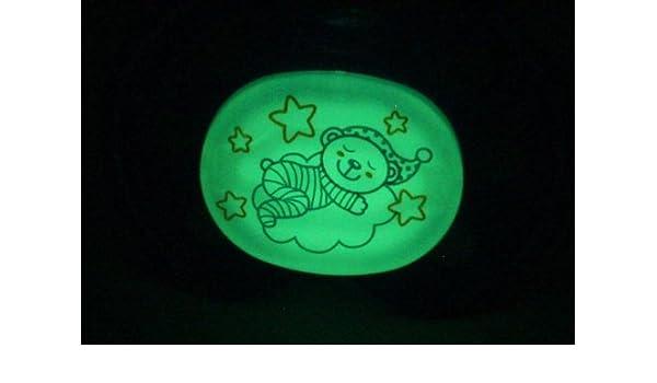leuchtender Baby de Nova Buena Noche Chupete - Tamaño 2 Azul ...