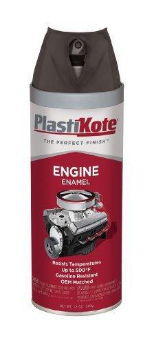 (PlastiKote 215 Low Gloss Black Engine Enamel, 12 oz. by PlastiKote)