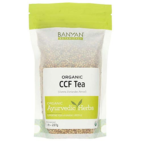 Banyan Botanicals CCF Tea (Cumin, Coriander, Fennel) - USDA Organic - Digestive Tea to Support Natural Detoxification (1/2 lb)