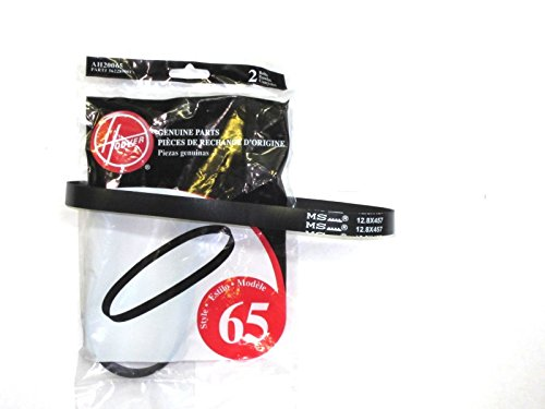 Hoover T-Series Flat Non-Stretch Belt (4-Pack), AH20065 (Hoover Appliances)