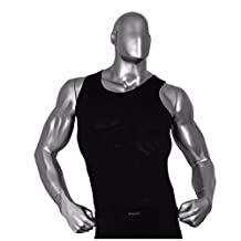 Mens Tank Top Gym Compression Undershirt Base Layer Workout for Crossfit RM
