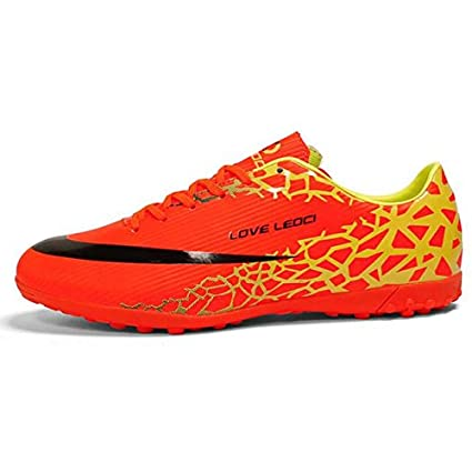 42a6766b3060 Image Unavailable. Image not available for. Color: RNJ Megastore Leoci Size  33-44 Men Boy Kids Soccer Cleats Turf Football Soccer Shoes