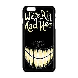 We Are All Mad Here Bestselling Hot Seller High Quality Case Cove Case For Iphone 6 Plus