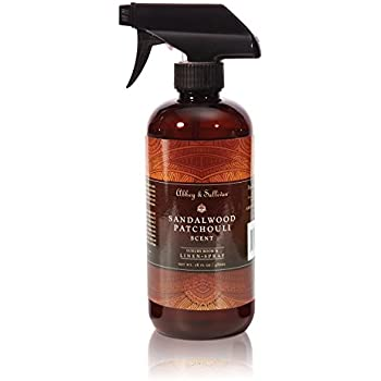 Abbey & Sullivan Linen Spray, Sandalwood Patchouli, 16 oz.