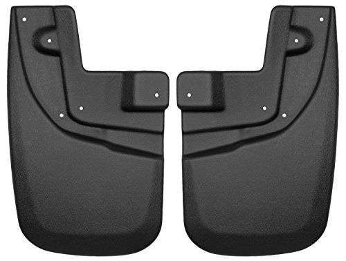 Husky Liners Custom Fit Front Mudguard for 2005-2014 Toyota Tacoma Models (Tacoma Mud Flaps compare prices)