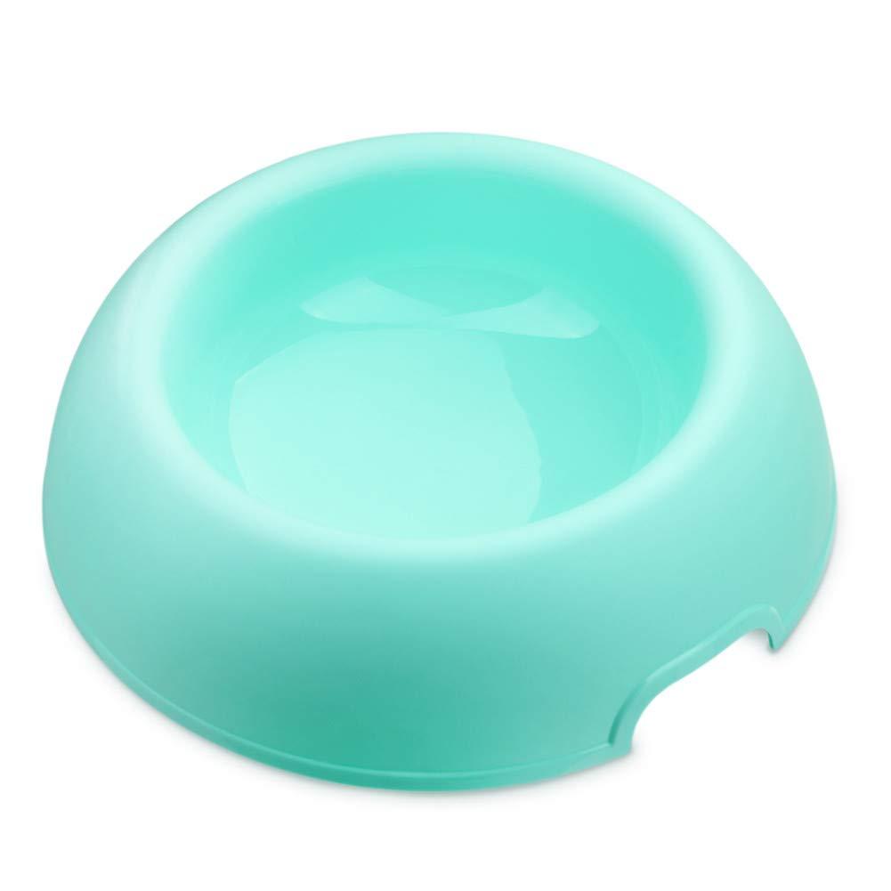FOREVER-YOU Cat Bowl pet Food Basin color Dog Bowl Bowls golden Dog Bowl A