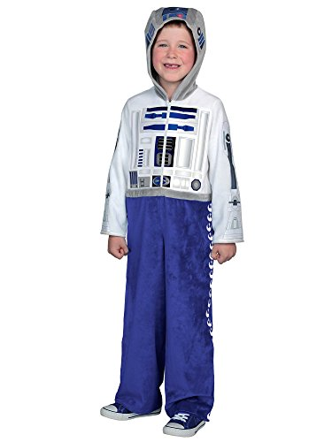 Princess Paradise Classic Star Wars Premium R2-D2 Jumpsuit, White/Blue, X-Small -