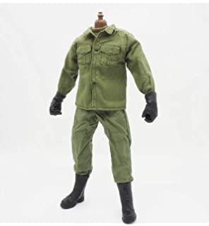 Amazon Com Green Soldier Uniforms Set For 12 Male Military