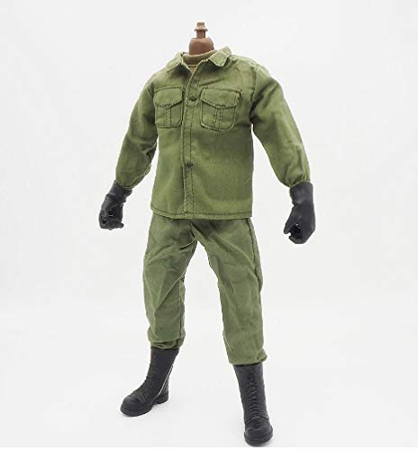 (1/6 Scale Soldier Uniforms Clothes for 12