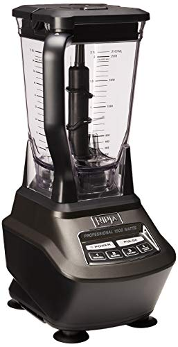 Ninja Mega Kitchen System (BL770) BlenderFood Processor with 1500W AutoiQ  Base 72oz Pitcher 64oz Processor Bowl (2) 16oz Cup for Smoothies Dough More