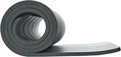 AmazonBasics 1/2-Inch Extra Thick Exercise Mat with Carrying Strap