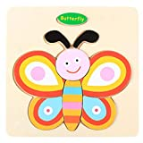 Gbell Wooden Jigsaw Board for Toddlers, Cute Animal Puzzle Toy Gift for 1-3 Year Old Preschool Baby...