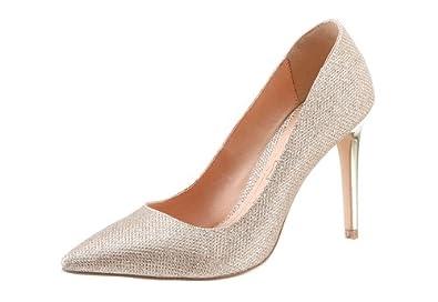 Buffalo Ubergrosse Shopping Queen Damen High Heel Absatz Schuhe