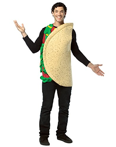 Rasta Imposta Lightweight Taco Costume, Multi-Colored, One