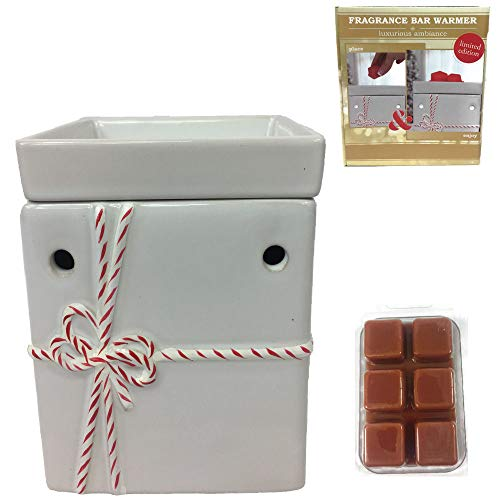 - Candle Wax Melt Warmer and Tart Fragrance Aroma Bundle White Baker's Gift Box Electric Warmer an1 Assorted Wax Melt Gift Set