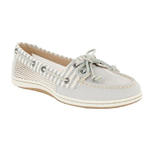 Sperry Top-Sider Firefish barco zapatos de la mujer Gris claro