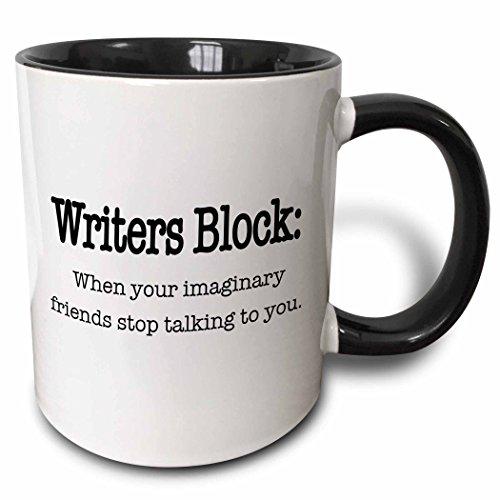 3dRose Writers Imaginary Friends Talking