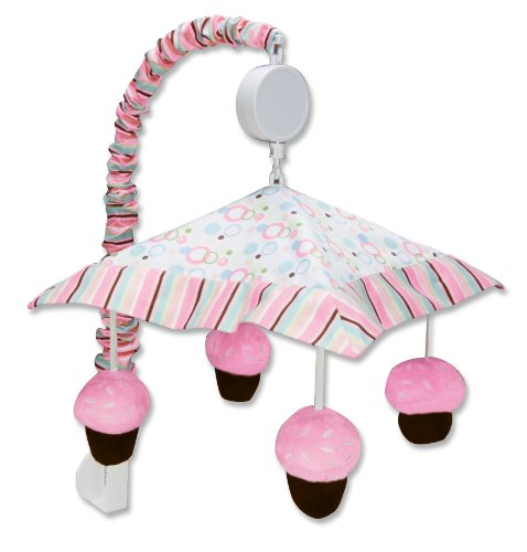 Trend Lab Cupcake Musical Crib Mobile, ()