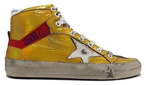 golden goose - Zapatillas de Piel para mujer dorado dorado