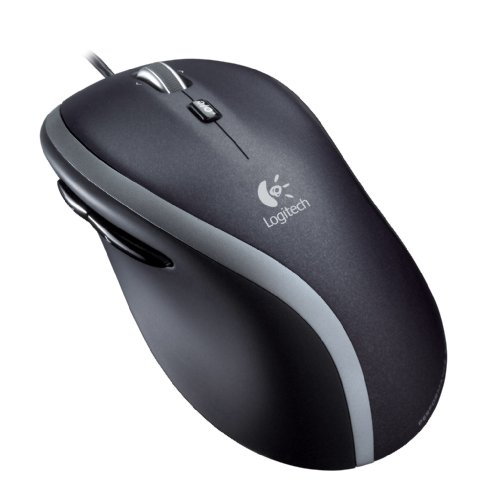 Logitech M500 USB Corded Mouse with Hyper-Fast Scroll (Scrolls Fusion)