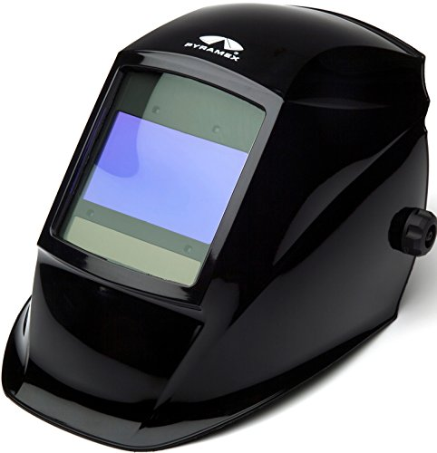 Pyramex Safety WHAD6030GB Leadhead Welding Helmet with Autodarkening, Glossy Black