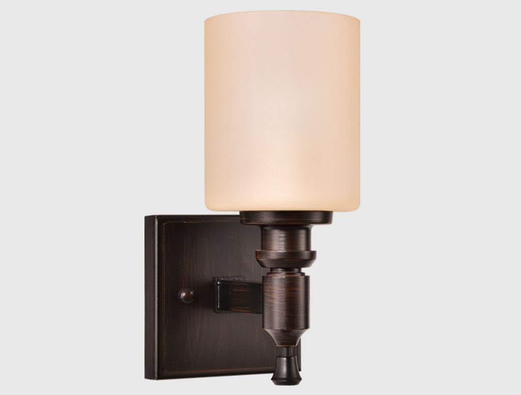 American retro Eisen Wandleuchte LED Lampe Nachttischlampe Schlafzimmer modernen minimalistischen TV Wandleuchte gang Wandleuchte Beleuchtung Lampen Laternen