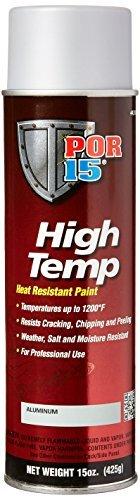 POR-15 44318 Aluminum High Temperature Paint - 15. oz by POR-15
