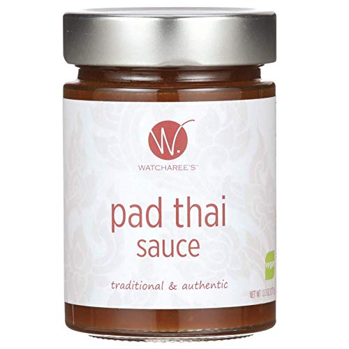 Watcharee's Pad Thai Sauce (Vegan) 13.1 Fluid Ounce (Best Sauce For Fried Fish)