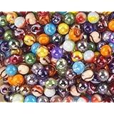 "Mega Marbles SET OF 24 ASSORTED - 1/2"" PEEWEE MARBLES"