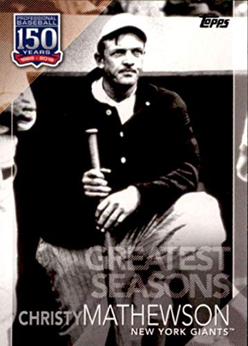 2019 Topps Stadium Club CHRISTY MATHEWSON Base Card #29 Giants