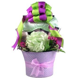 Gift Basket Village LaFi Lavender Fields44; Spa Gift Basket For Her