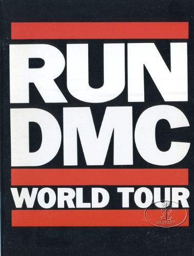 Run Dmc 1986 Raising Hell World Tour Concert Program Programme