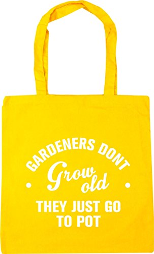 litres just Gym x38cm they go Shopping old to 10 Beach Gardeners HippoWarehouse Bag don't Yellow Tote 42cm pot grow wqPPTX