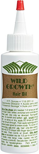 - Wild Growth Hair Oil 4 Oz