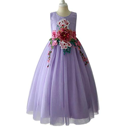 2e7040398c1bf Moda Fina Baby Girl s Party Wear Princess Ball Gown (MFC31LAVENDER120