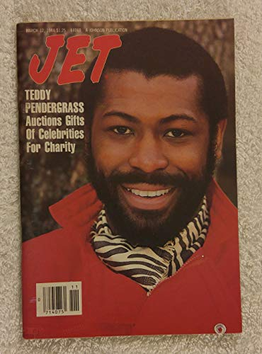 Teddy Pendergrast Auctions Gifts of Celebrities for Charity - Jet Magazine - March 12, 1984 ()