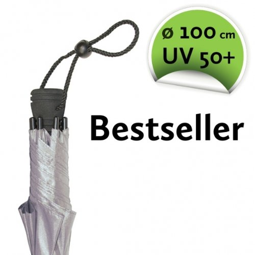 EuroSCHIRM Swing Liteflex Umbrella, Silver Uv-Protection 50+ by EuroSCHIRM