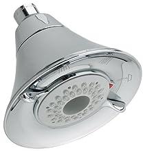 American Standard 1660.717.002 Flowise 3 Function Water-Saving Showerhead, Chrome