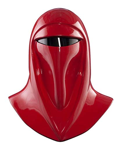 Rubie's Star Wars Adult Supreme Edition Imperial Guard Helmet, Red, One Size Costume]()