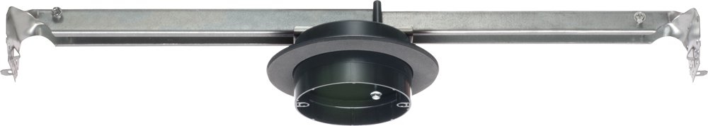 Arlington Industries FBR425F-5  Fan and Fixture Mounting Box with Adjustable Steel Bracket for Double Drywall Ceilings, 27.3-Cubic Inch, 5-Pack