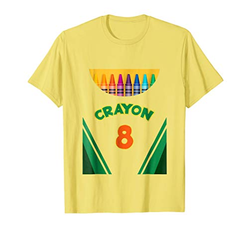 Kids Crayon Halloween Costume T-Shirt For Boys and Girls