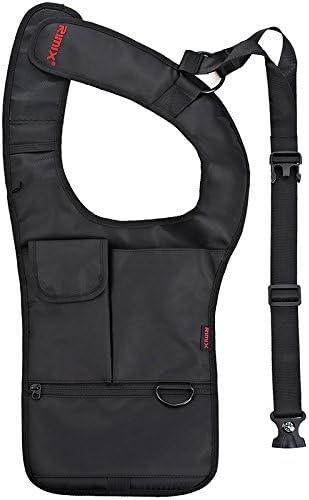 RIMIX Multifunctional Antitheft Storage Bag Men//Women Waterproof Nylon Crossbody