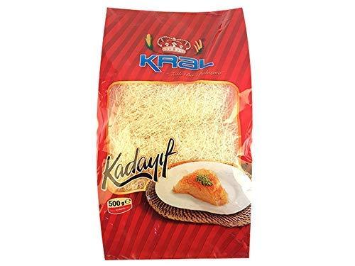 Price comparison product image KRAL KADAYIF KURUTULMUS (Dried Kadaifi) dry Kataifi 500GR