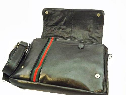 Borsa messenger in pelle effetto vintage -Vero Artigianato italiano - 38cm L, 26cm H,6 cm MOD : JERICO CON MANICO