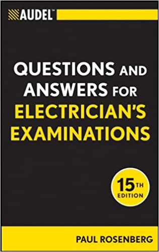 Audel Questions and Answers for Electricians Examinations