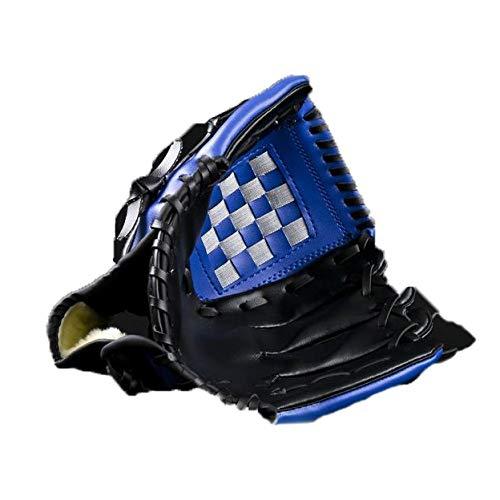 FHCSAO Guante De B/éisbol para Ni/ños,Guantes De Bateo De Deportes para Adultos,Atrapar Softball De B/éisbol para Exteriores,10.5 11.5 12.5 Pulgadas Vacaciones,Blue-S