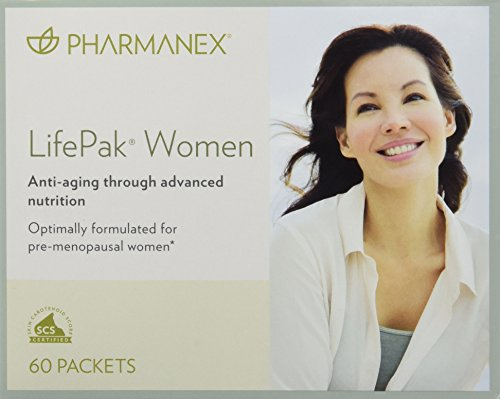 Pharmanex Lifepak Women Anti-aging Formula 60 Packets (Packets 60 Women)