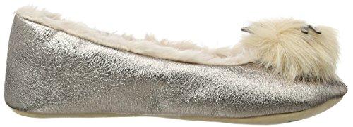 amp; Ruby Hausschuhe Ballerina Gold Ed Gold Damen Mouse SRxzCdR